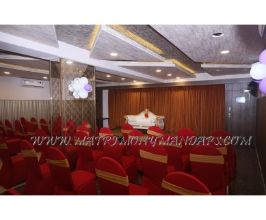 Find the availability of Sri Udupi Party Hall (A/C)  in Indira Nagar, Bangalore and avail the special offers