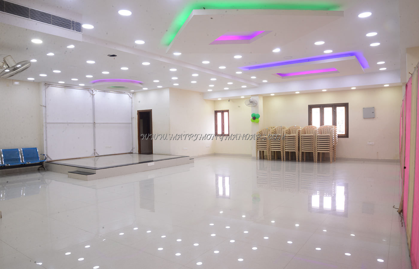 Find the availability of the Shalom Party Hall 1 (A/C) in Madambakkam, Chennai and avail special offers