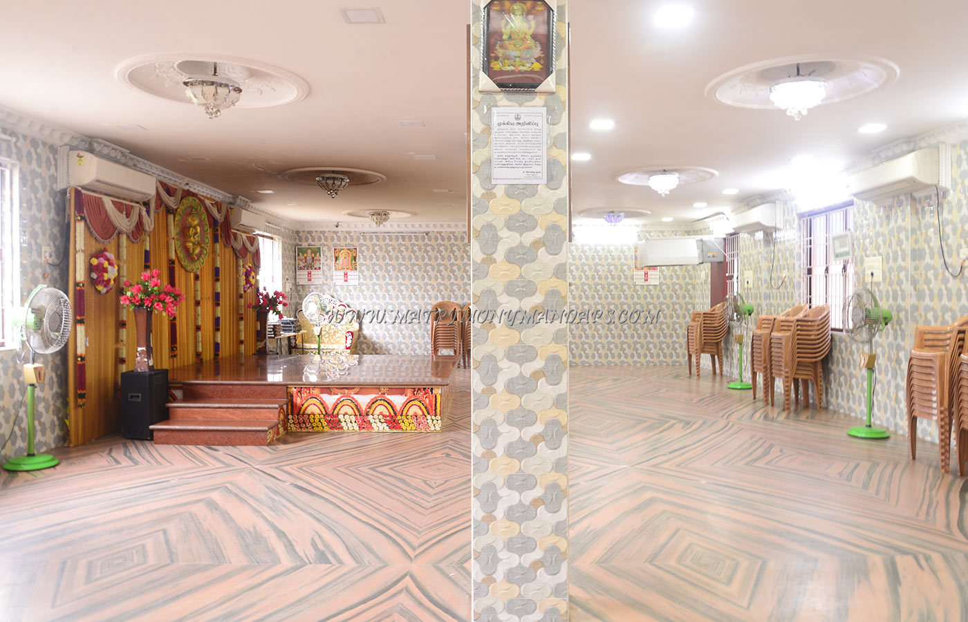 Find the availability of the Shri Subiksham Hall (A/C) in Madambakkam, Chennai and avail special offers