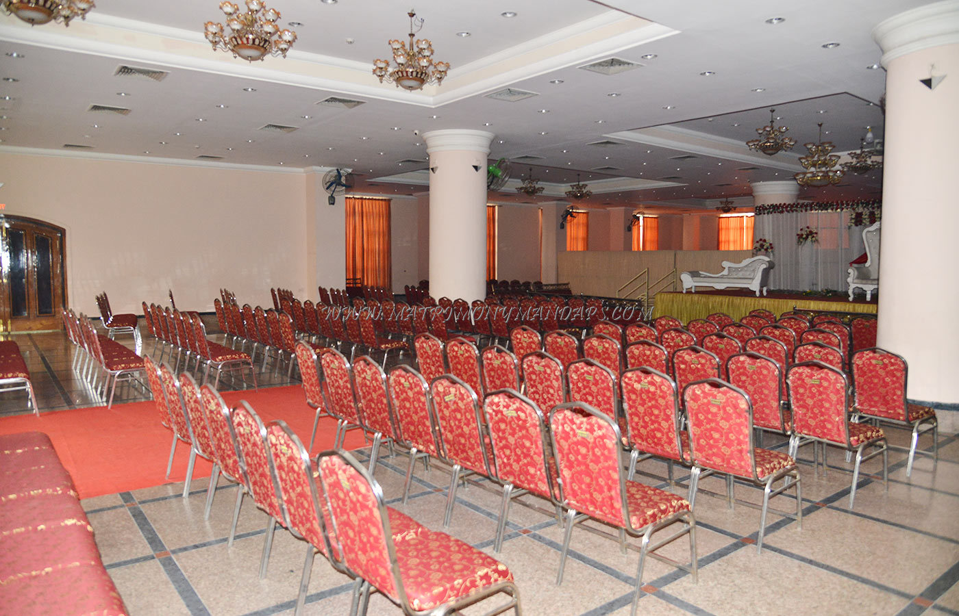 Find the availability of the Golden Pale Function Hall 1 (A/C) in Tolichowki, Hyderabad and avail special offers