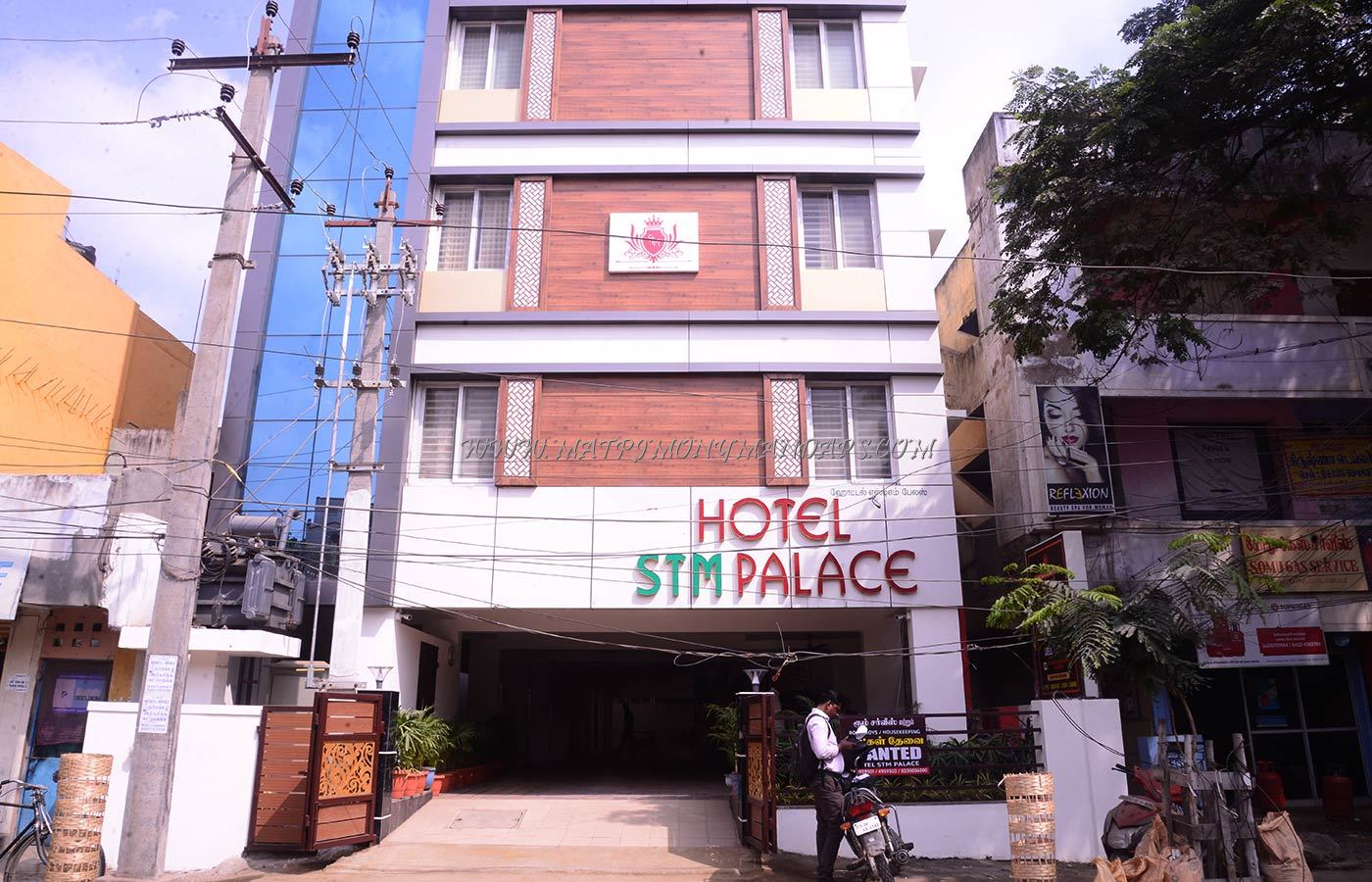 Find the availability of the Hotel STM Pale Opal Hall (A/C) in RS Puram, Coimbatore and avail special offers
