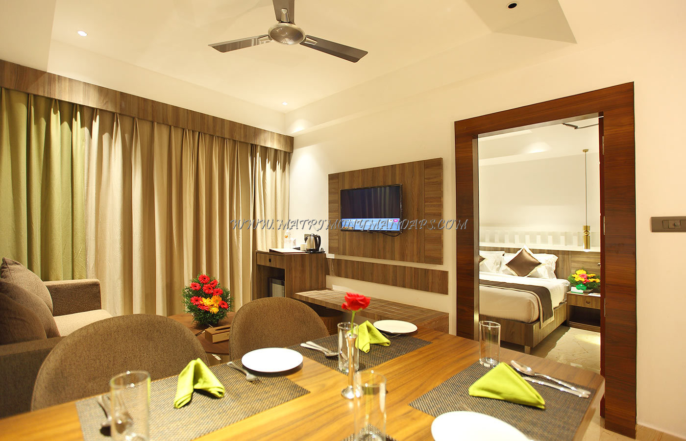 Find the availability of the Embassery Residency (A/C) in Perumbavoor, Kochi and avail special offers