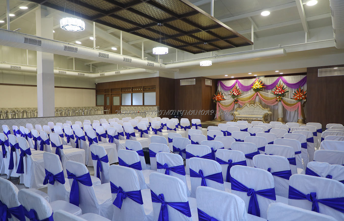 Find the availability of the Raga Banquet Hall (A/C) in Sanjay Nagar, Bangalore and avail special offers