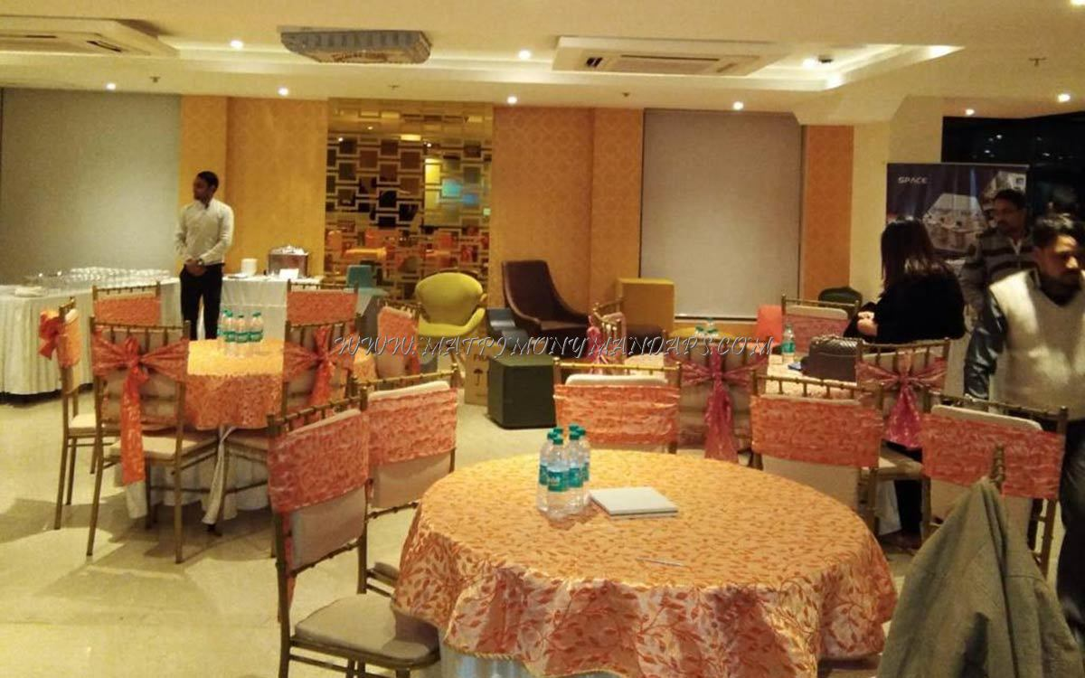 Find the availability of the The Orion Plaza Hall 2 (A/C) in Kalkaji, Delhi and avail special offers