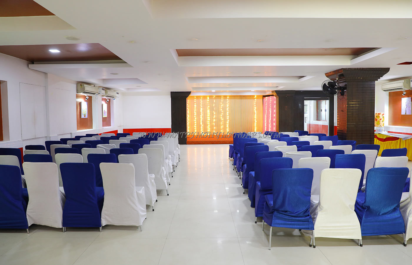 Find the availability of the Kattumaram Sumangali Hall (A/C) in Porur, Chennai and avail special offers