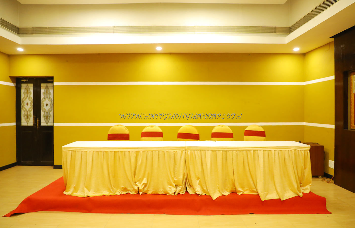 Find the availability of the Raj Pale Sundar VT Hall (A/C) in RA Puram, Chennai and avail special offers