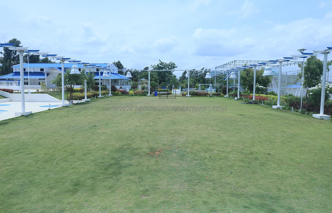 Find the availability of the Sky Blue Orchids Resort Poolside Lawn in kanakapura road, Bangalore and avail special offers