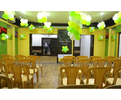 Find the availability of V and T Party Hall (A/C)  in Chetpet, Chennai and avail the special offers